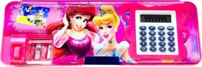 Priyankish Smart Kids Sweet Barbie Cartoon Art Plastic Pencil Box