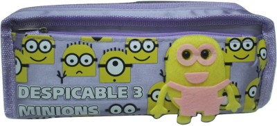SILTASON SHAKTI DESPICABLE ME 3 CARTOON Art CLOTH Pencil Box