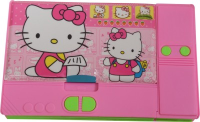 Priyankish Smart Kidz Hello Kitty Art Plastic Pencil Box