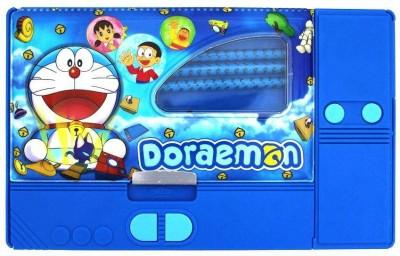 Shree Krishna Handicrafts And Gallery Doraemon Cartoon Art Plastic Pencil Box