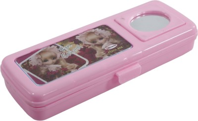 Edit One Romance Barbee With Mirror Art Plastic Pencil Box