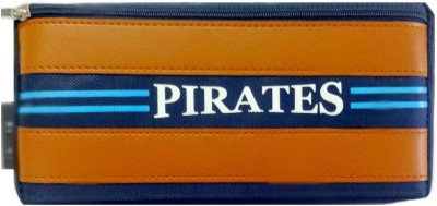 Aardee NA Pirates Design Art Thick Fabric Pencil Box