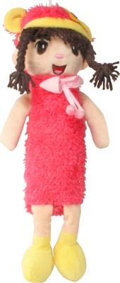 SJ Toy Doll Art Polyester Pencil Box