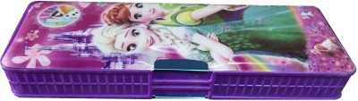 MVEshoppers BARBIE-069 BARBIE FROZEN ART SPECIAL PENCIL BOX Art PLASTIC Pencil Box