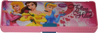 Disney PRINCESS Cartoon Art Plastic Pencil Box