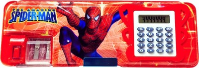 Priyankish Smart Kids Spiderman Cartoon Art Plastic Pencil Box