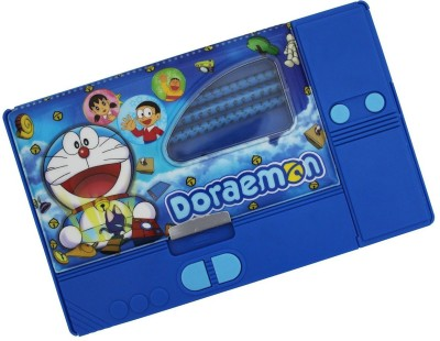 Stuff Jam Doraemon Cartoon Print Art Plastic Pencil Box