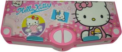 SSD Hello kitty Character Art Plastic Pencil Box