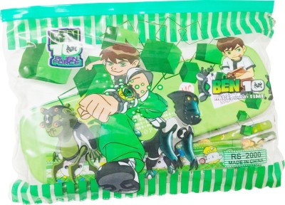 Priyankish Smart Kids Ben 10 Character Art Plastic Pencil Box