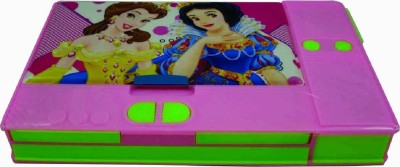 RSI Jumbo Princess Art Plastic Pencil Box
