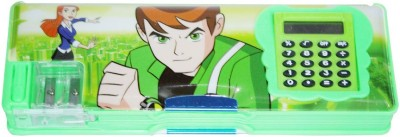 DreamBag Ben10 Print Art Plastic Pencil Box