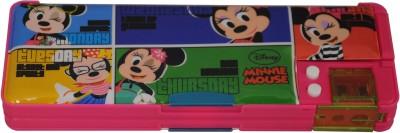 Disney MINNIE Cartoon Art Plastic Pencil Box