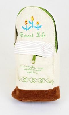Enwraps Utility Pouch Sweet Life Miniature Bag Abstract Art Cloth Pencil Box