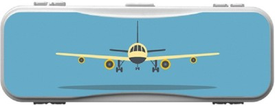 SKIN4GADGETS Skin4Gadgets AIRPLANE Designer Campass Box PATTERN Art Plastic Pencil Box