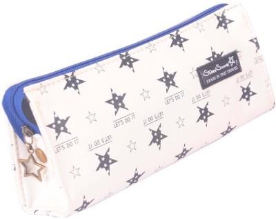 Enwraps Stars Shine Bird Art Cloth Pencil Box