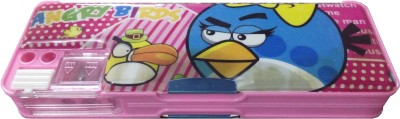 MVEshoppers MVE-098 multicolour cartoon art pencil box Art PLASTIC Pencil Box