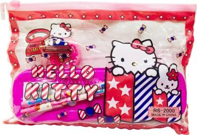 Priyankish Smart Kids Hello Kitty Character Art Plastic Pencil Box