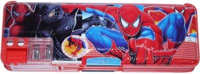 DreamBag Spiderman Print Art Plastic Pencil Box