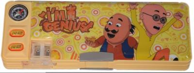 Nick Motu Patlu Cartoon Art Plastic Pencil Box