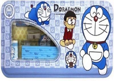 Shree Krishna Handicrafts And Gallery Doraemon Cartoon Art Metal Pencil Box