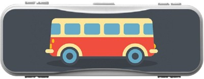 SKIN4GADGETS Skin4Gadgets BUS Designer Campass Box PATTERN Art Plastic Pencil Box