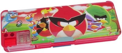 DreamBag Angry Bird Print Art Plastic Pencil Box