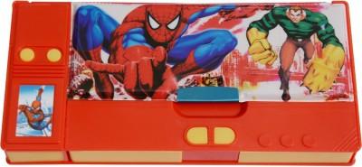 Priyankish Smart Kidz Spiderman Art Plastic Pencil Box