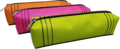 Cascara GOP Solid Art Denier Pencil Boxes(Set of 3, Multi Color)