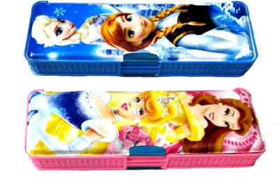 FCS cindra cee Toons Art Plastic Pencil Boxes