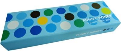Klassik Polka Dots Random Art Hard Card Board Pencil Box