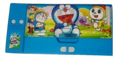 Gift Chachu Small Jumbo Doraemon Art Plastic Pencil Box