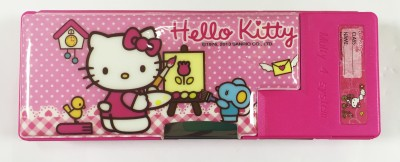 Disney hello kitty hello kitty Art plastic Pencil Box