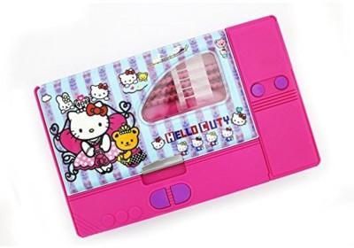 Shopaholic NA Hello kitty Art Plastic Pencil Box