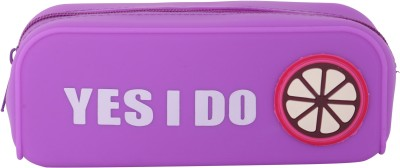 Priya Exports Yes I Do Fruity Art Silicon Pencil Box