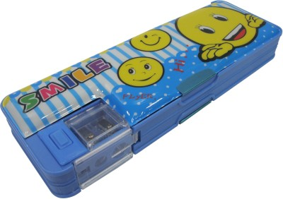 Starmark BTS Smiley Art Metal Pencil Box