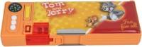 Tom & Jerry School Plastic Pencil Box(Set of 1, Orange)