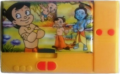 Gift Chachu Jumbo Chhota Bheem Art Plastic Pencil Box