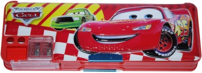 DreamBag Cars Print Art Plastic Pencil Box