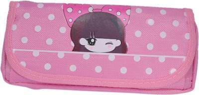 Saamarth Impex Cartoon Cute Girl Print Art Clothes Pencil Box