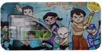 Shopaholic Chhota Bheem Cartoon Art Metal Pencil Box(Set of 6, Green)
