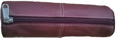 Ystore Pencil Pouch Genuine Leather Pencil Box