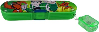 Saamarth Impex Ben 10 Cartoon Art Plastic Pencil Box
