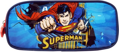 Superman School Plastics Pencil Box