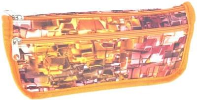 Chrome Series Printed Art Cloth Pencil Box