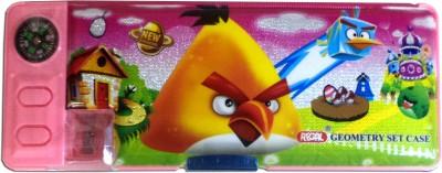 Karta Angry Bird Shine With Campass & Lense Art Plastic Pencil Box