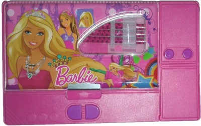 Stuff Jam Barbie Barbie Cartoon Characters Print Art Plastic Pencil Box
