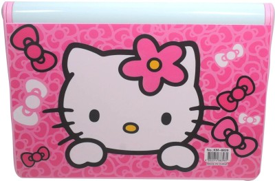 Shree Krishna Handicrafts And Gallery Hello Kitty Bookshelf With Marker And Board. Art Plastic Pencil Box
