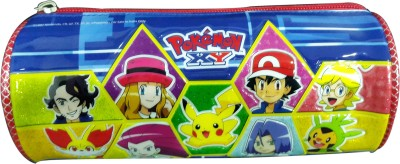 Pokemon Character Face Art Fabric Pencil Box