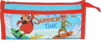 NICKELODEON MOTU PATLU Cartoon Art NYLON & PVC Pencil Box