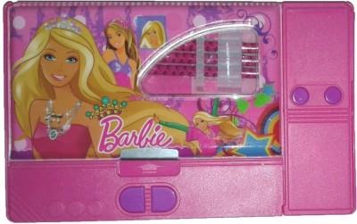 ENERZY Disney Barbie Cartoon Characters Print Art Plastic Pencil Boxes
